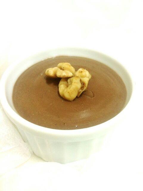 ヘルシー豆腐チョコムース