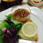魚のムニエル~ラビゴットソース