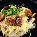 うなぎの散らし寿司