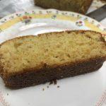 大豆の味噌パウンドケーキ